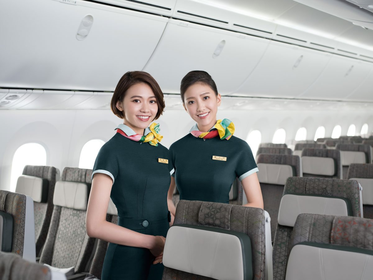 We received friendly and attentive service on our EVA Air flights in Economy Class.
