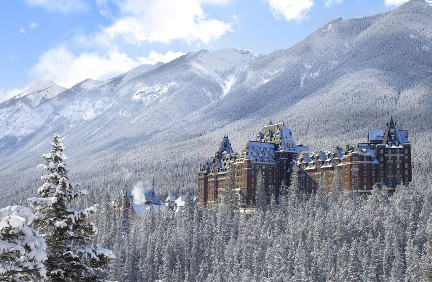 One of Canada's grand railway hotels, the iconic Banff Springs Hotel was built in the 19th century (Credit: Fairmont Banff Springs Hotel).