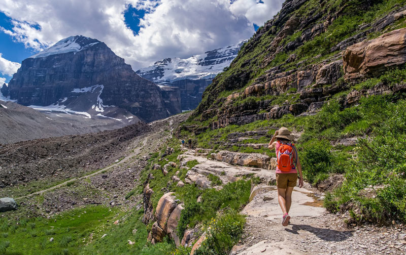 Fresh air? Exercise? Stunning scenery? Hiking in the Canadian Rockies is good for the soul and the body