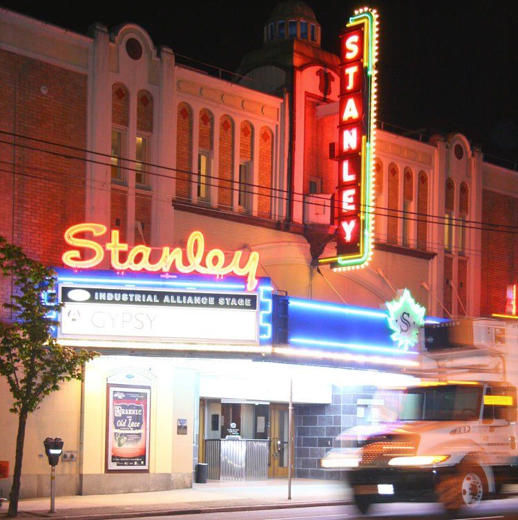 Vancouver's Stanley Theatre is beloved by many Vancouverites!