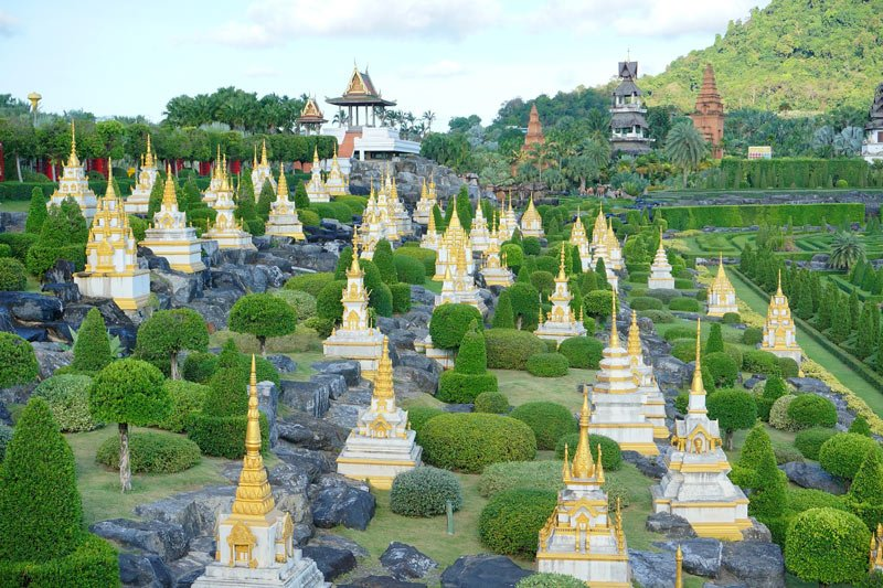 A blend of Thai landscaping and European-style gardens, Nong Nooch Tropical Gardens in Thailand is one of the best gardens in the world.