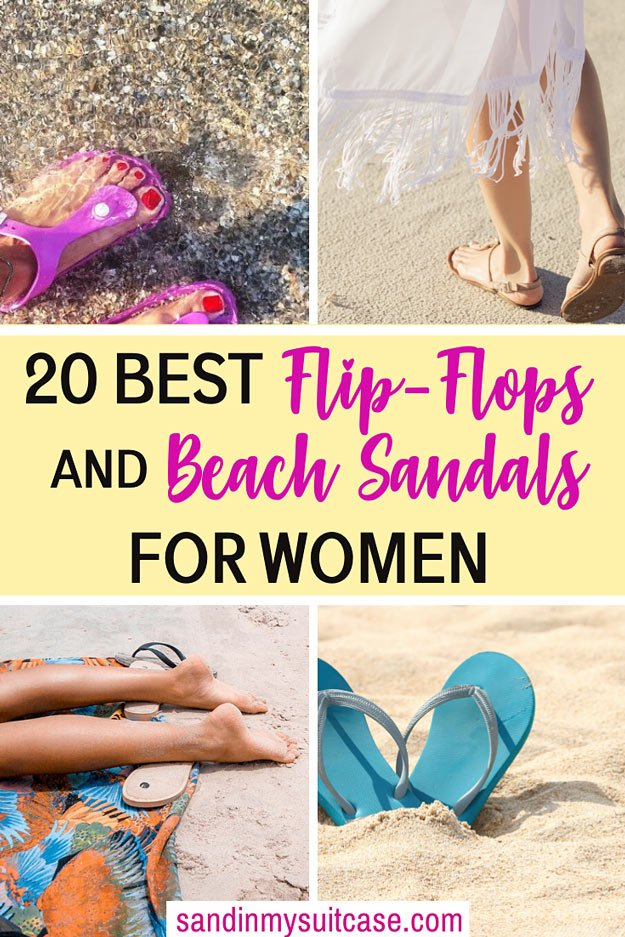 Best Beach Sandals and Flip-Flops for