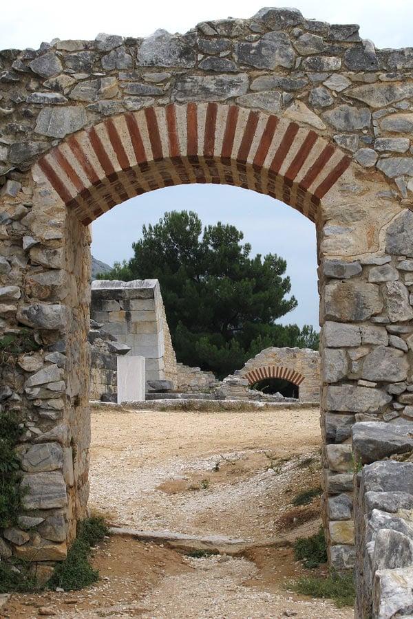 Ancient ruins of Philippi