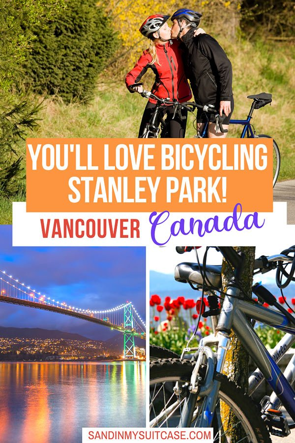 Bicycling Vancouver Stanley Park