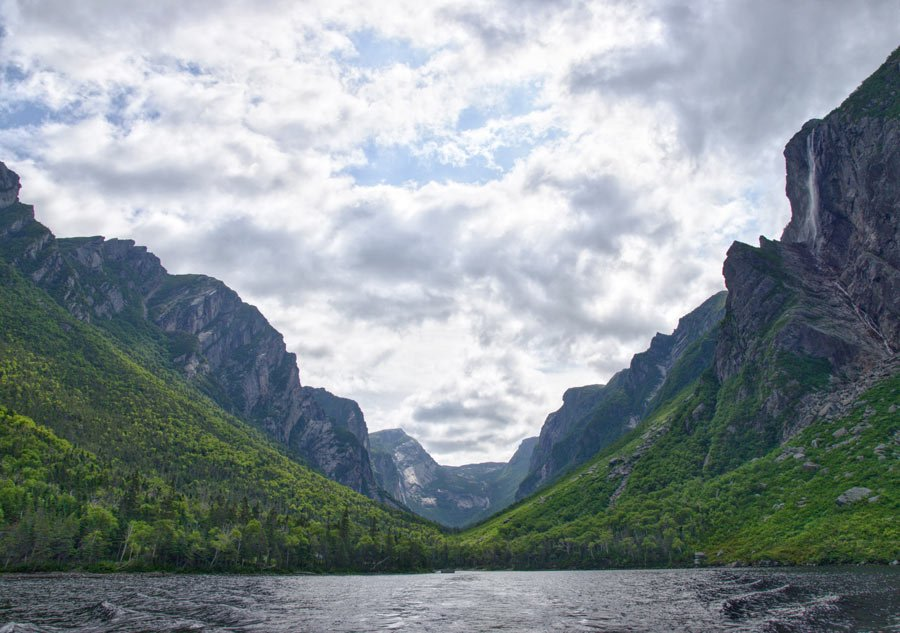 Fjords in Gros Morne National Park, Canada