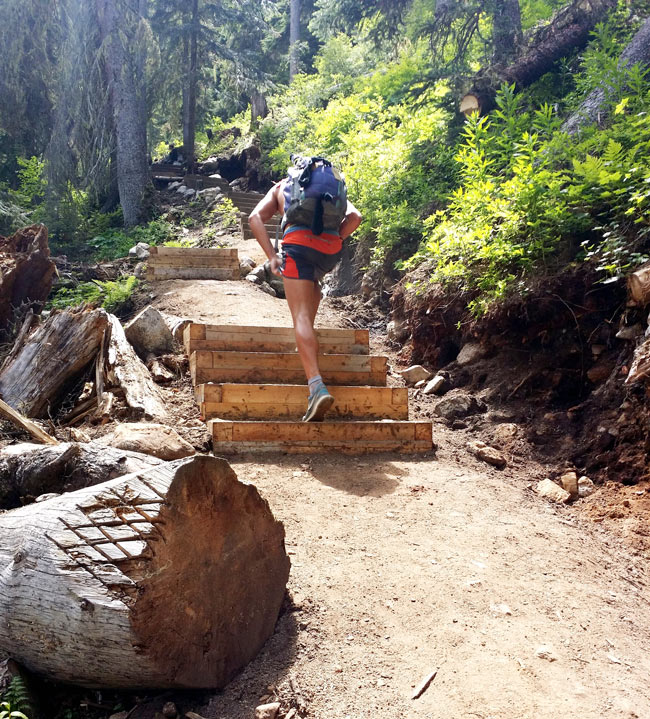 Joffre Lakes trail conditions: See how well-maintained the new trail is.