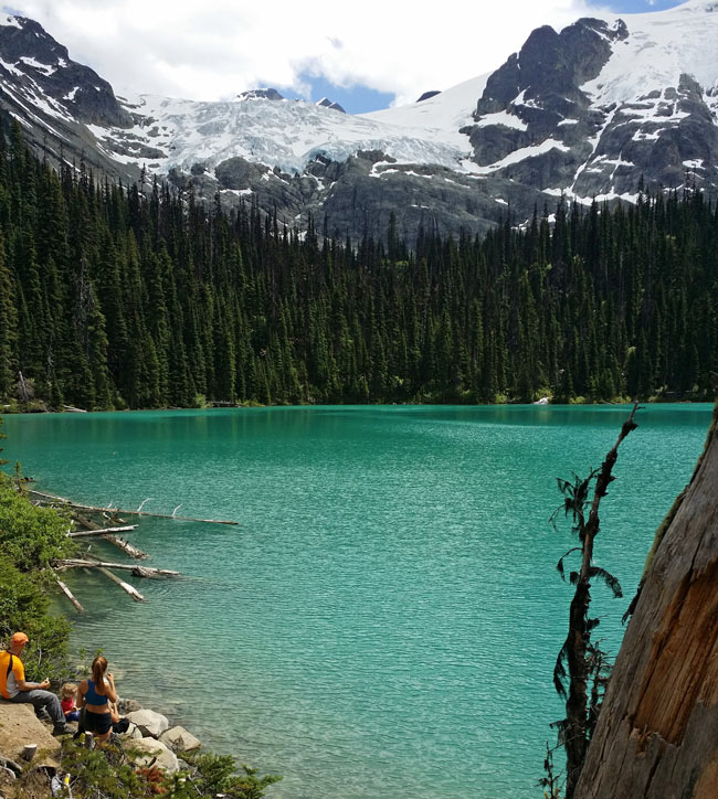 One of the Joffre Lakes, British Columbia