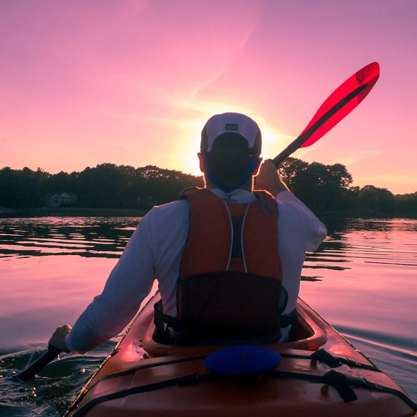 Kayaking Thousand Islands, Canada