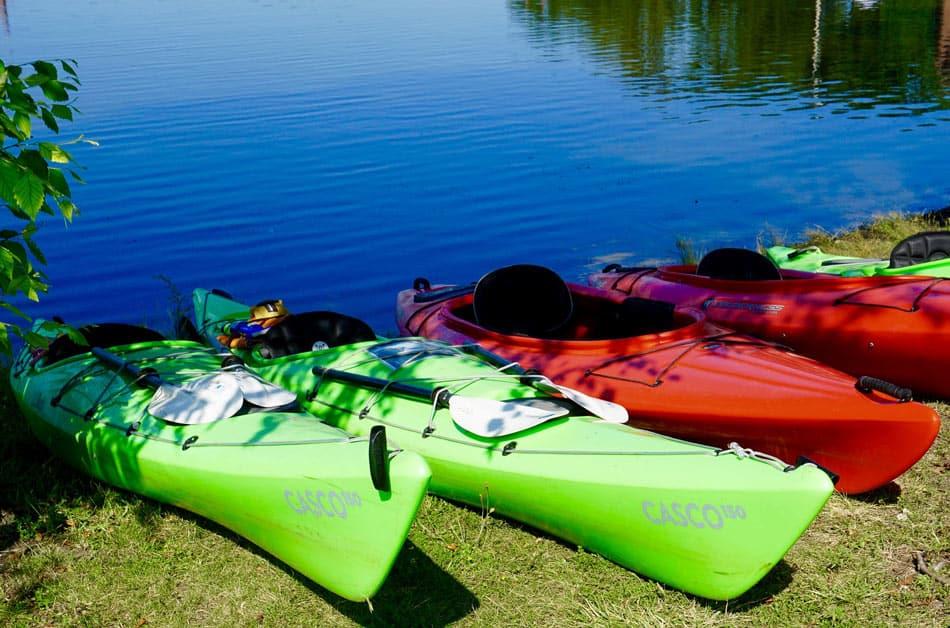 Kayaking Thousand Islands National Park
