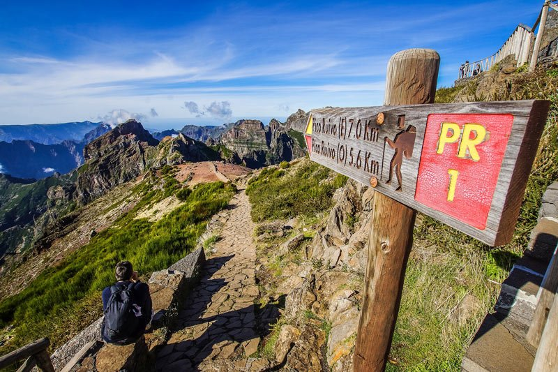 There are many stupendous hikes in Madeira!