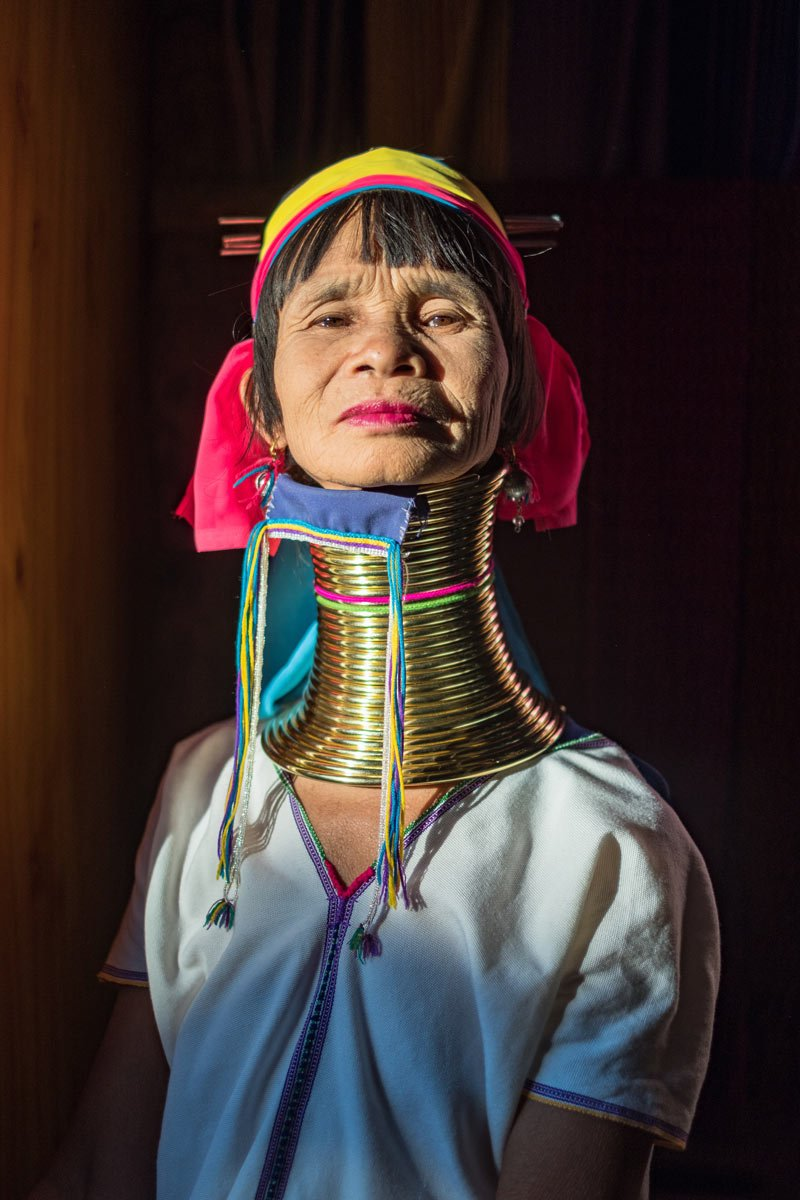 Myanmar woman from Inle Lake