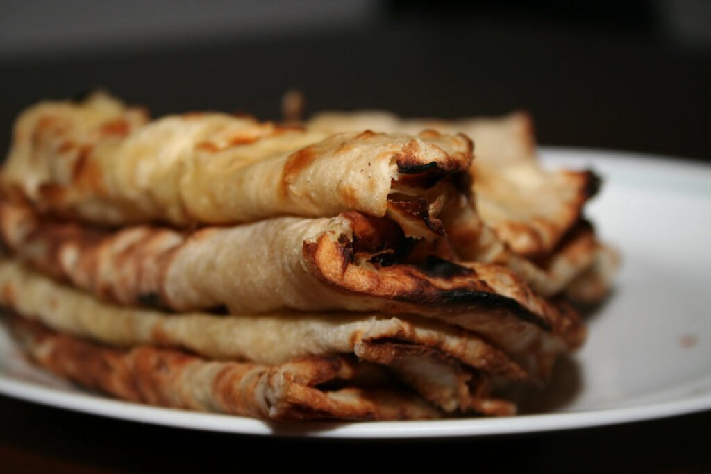Naan is a favorite Indian dish.