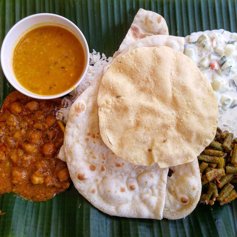 One of our favorite Indian dishes to order as a starter is a serving of papadums.