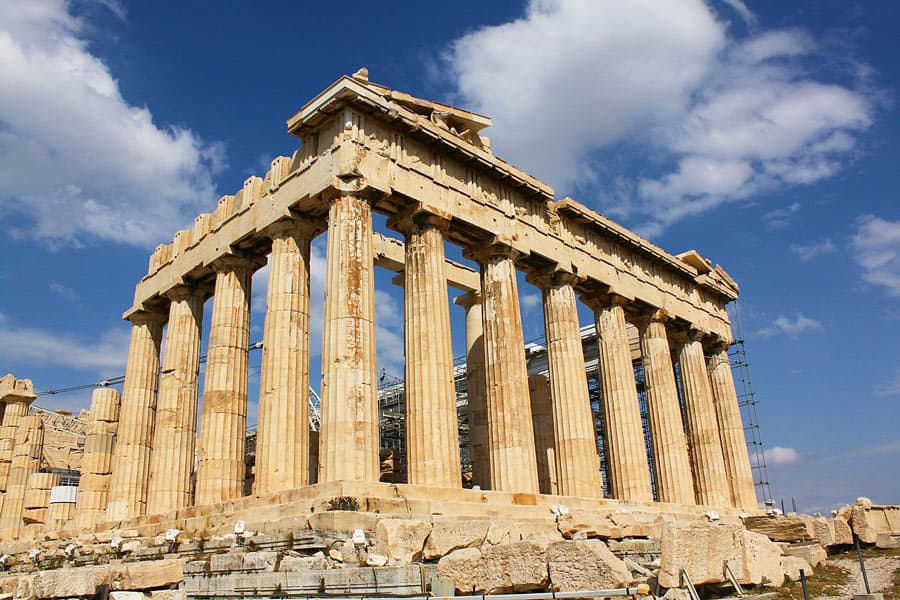 Is Athens worth visiting? Yes! If only to visit the Parthenon on the Acropolis!