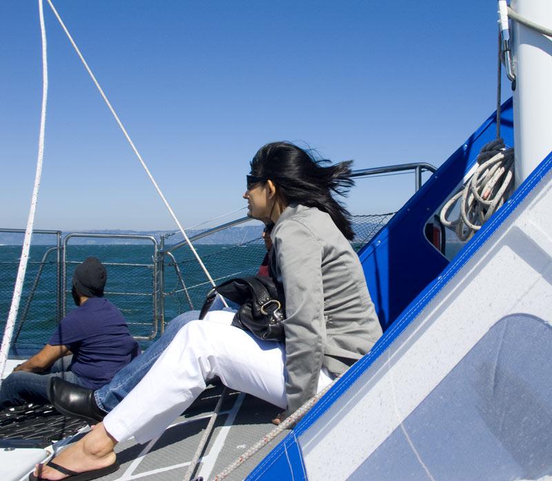 Sailing in San Francisc Bay