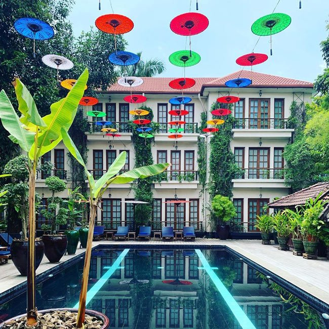 Our colonial-style hotel in Yangon (Credit: Savoy Hotel)