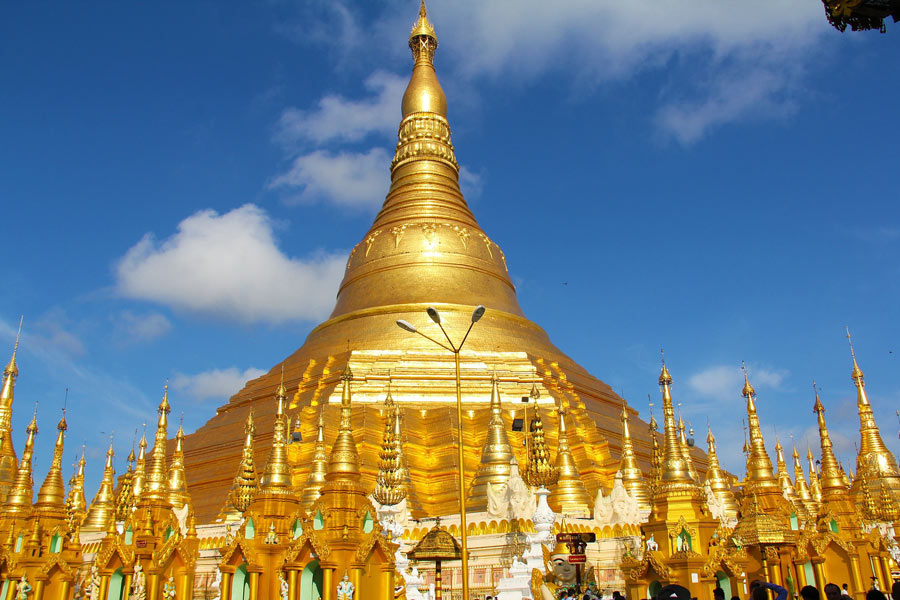 Visiting the Shwedagon is one of the top things to do in Yangon.