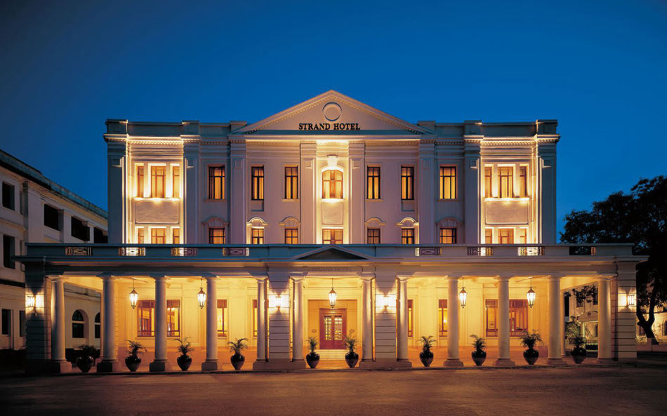 This beautifully-restored, 3-storey Victorian hotel is a landmark in Yangon (Credit: Strand Hotel)
