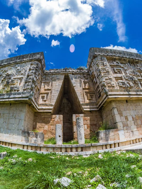 Uxmal was abandoned in the 15th century