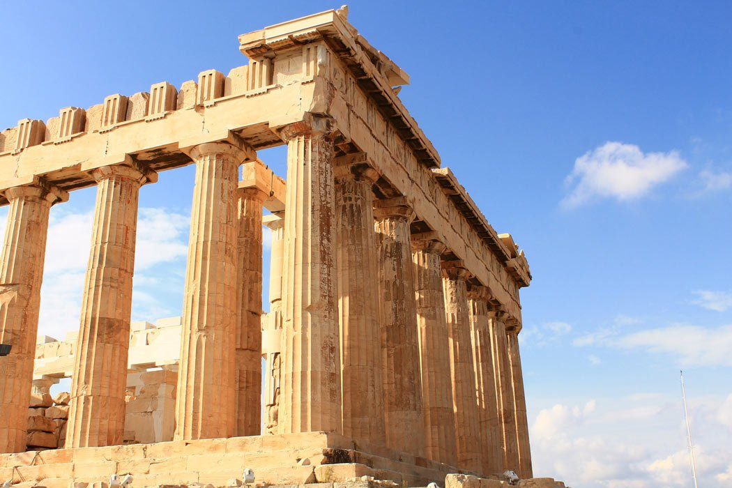 "Fun facts about Athens: The Acropolis almost became one of the ""New 7 Wonders of the World."""
