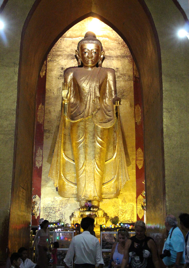 Ananda Temple is one of the best temples in Bagan