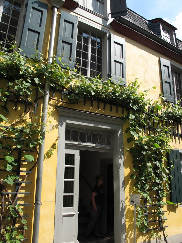 The Beethoven House is one of the top attractions in Bonn