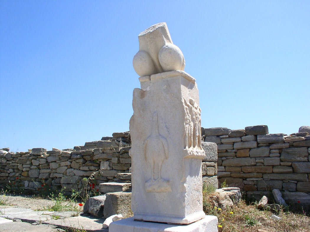 Centuries ago, Delos was once a fabulous Greek island city.