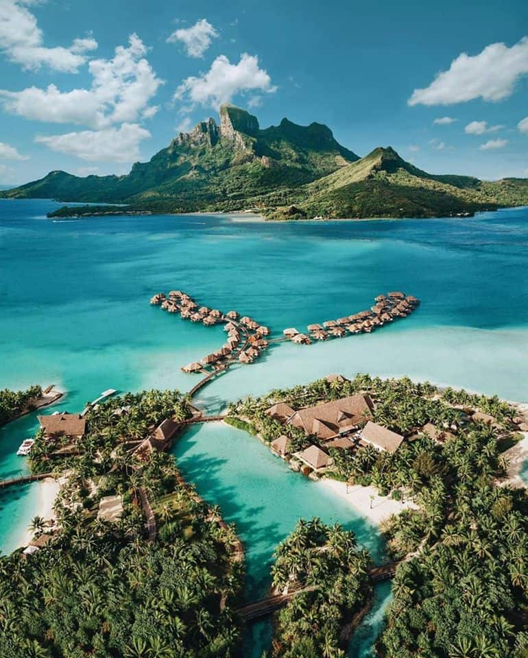 The Four Seasons Bora Bora is one of the best resorts in the world!