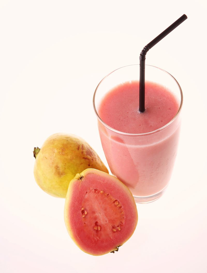 Mexican guavas make a great fruit juice.