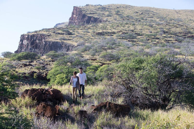 Hiking is one the popular things to do in Lanai, Hawaii