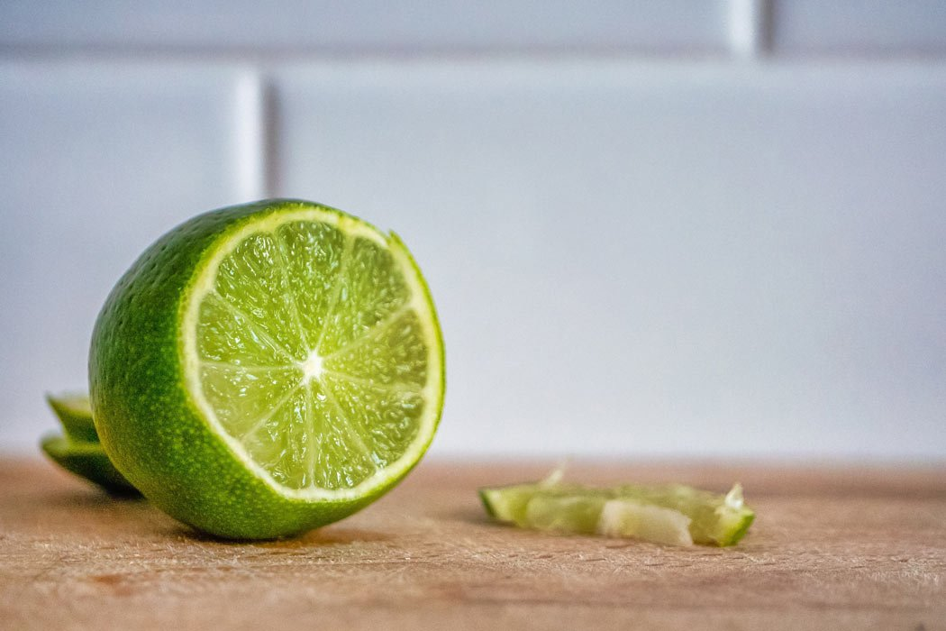 Limes are a very popular Mexican fruit.