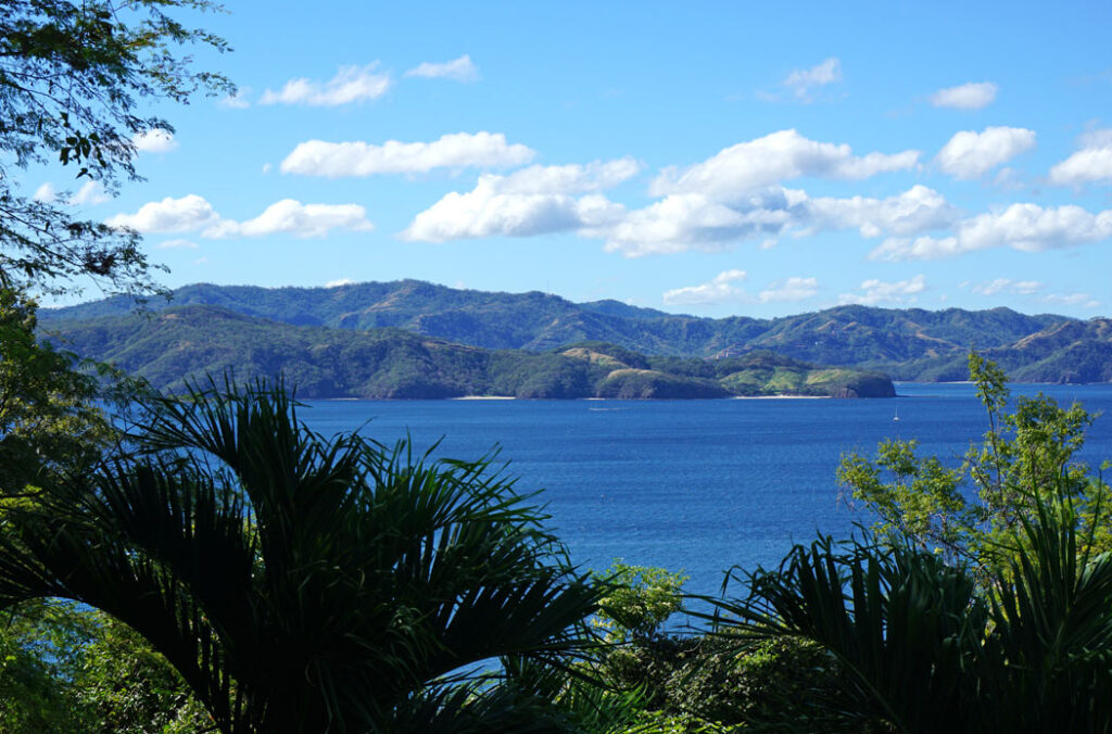 The Papagayo Peninsula is largely untouched by development - this is one of the views on our morning walks.