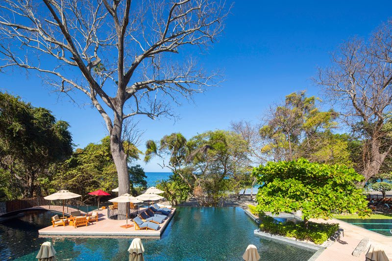 The private Prieta Beach Club on the Papagayo Peninsula has two pools.