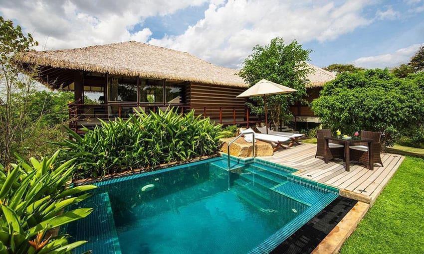 A pool villa at Ulagalla, Sri Lanka