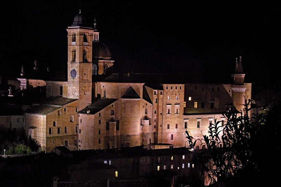 Palazzo Ducale in Urbino, one of the most beautiful places in Italy to see