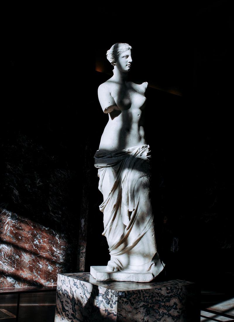 Venus de Milo, Louvre