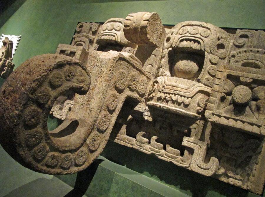 Mayan ball hoop