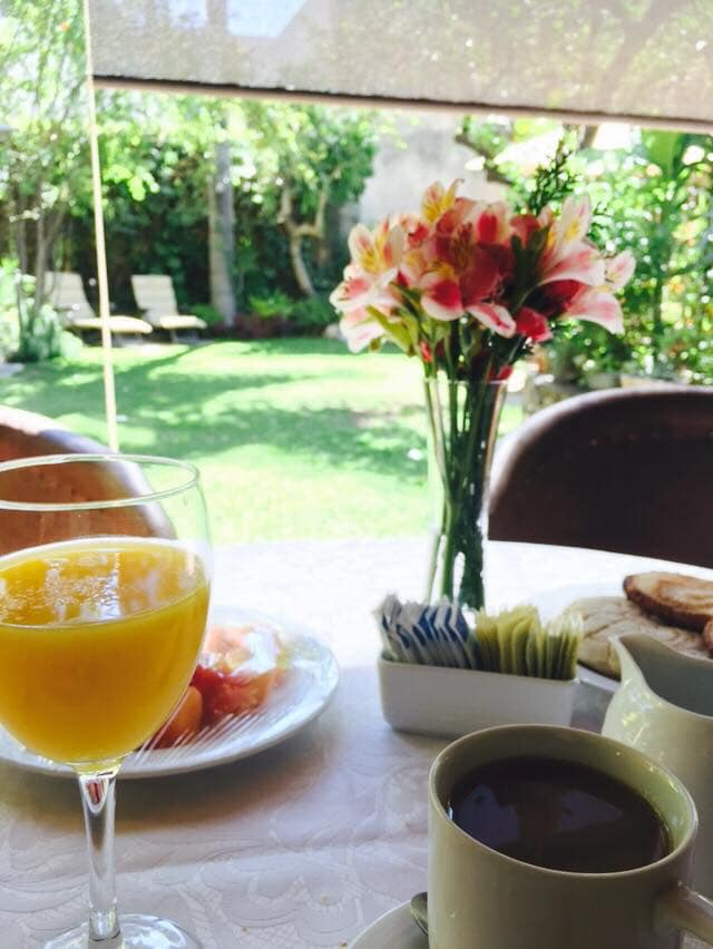 Breakfast is included in your stay at Villa Ganz.