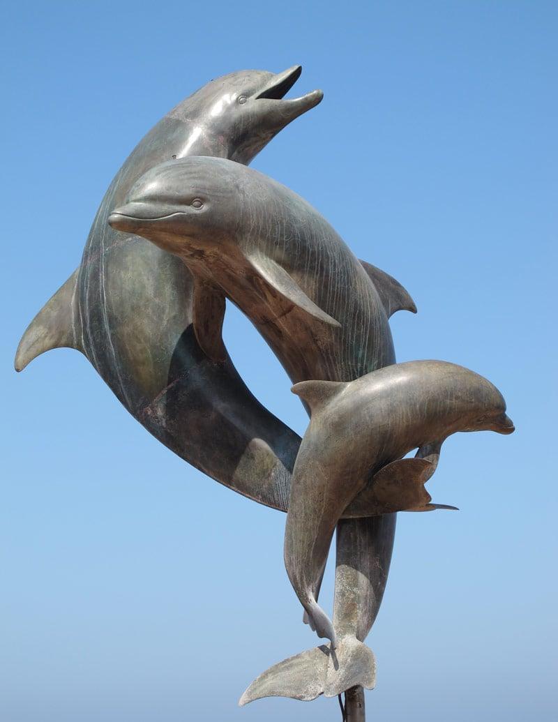 Puerto Vallarta Malecon sculpture of the Friendship Fountain