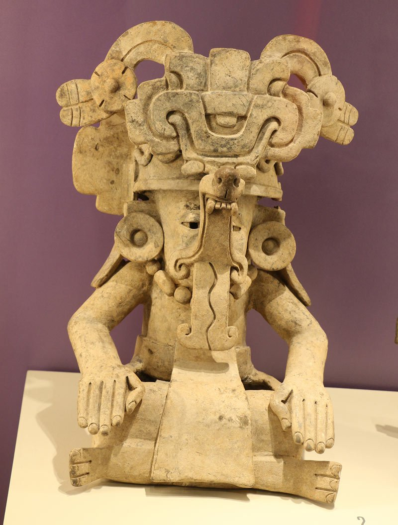 Exhibit at National Museum of Anthropology, Mexico City