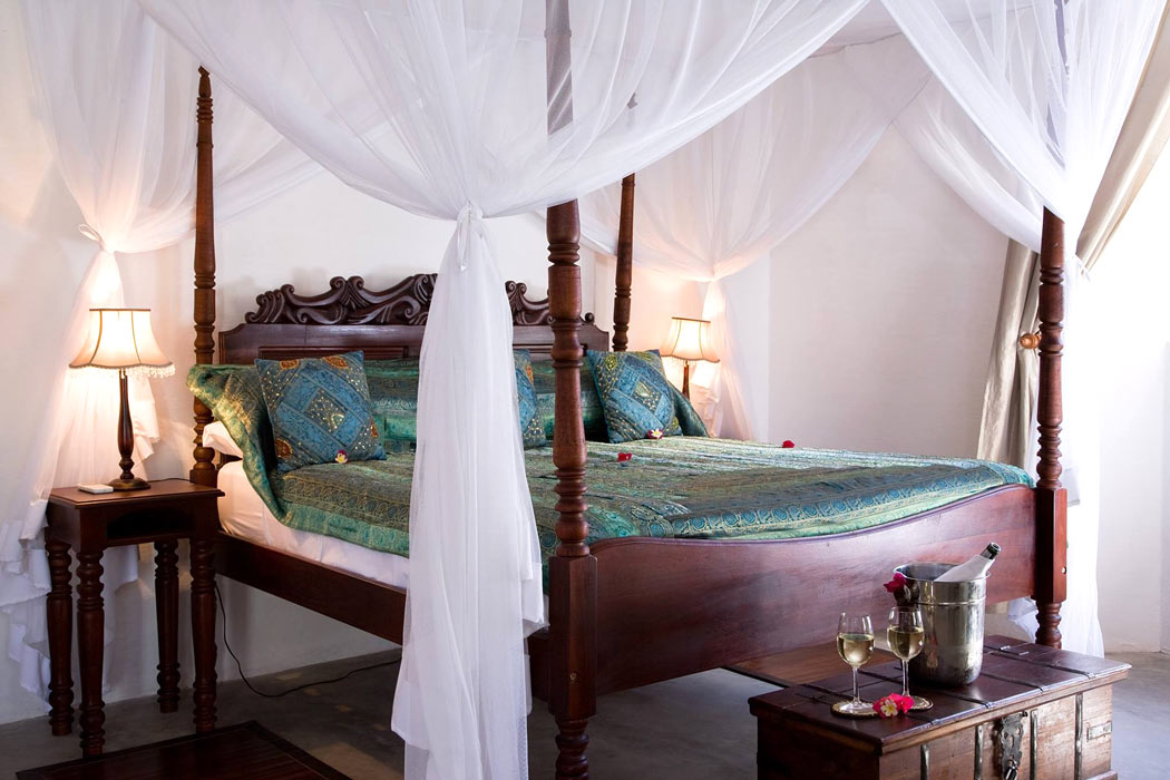 Our Ibo Island Lodge bedroom
