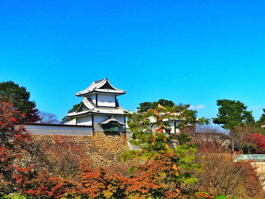 Beautiful gardens in Asia include Kenrokuen in Japan.