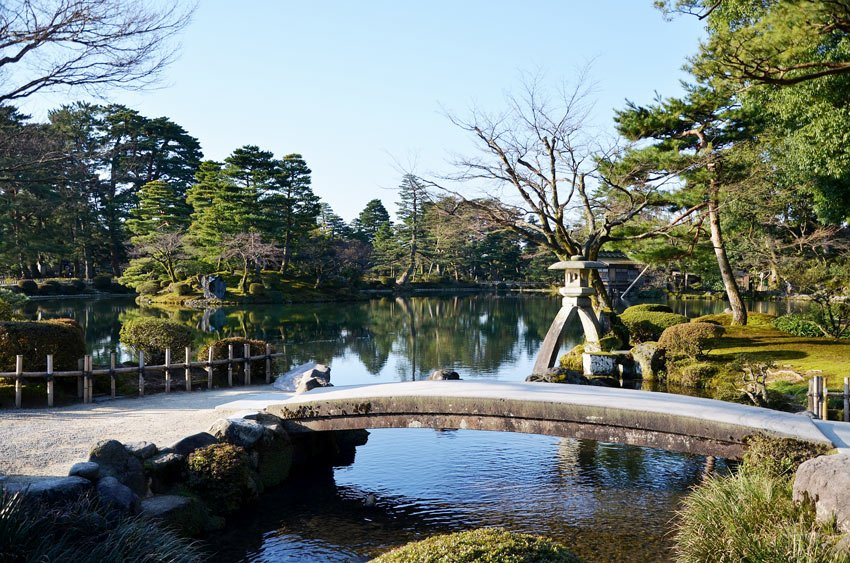 Kenrokuen in Kanazawa, Japan, is one of the most beautiful gardens in Asia.