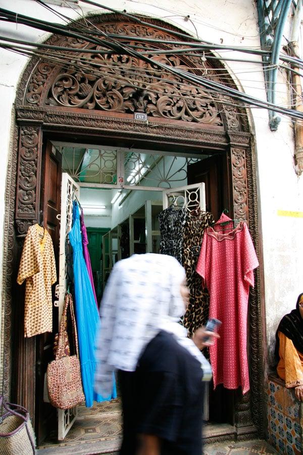 A shop in Stone Town, Zanzibar