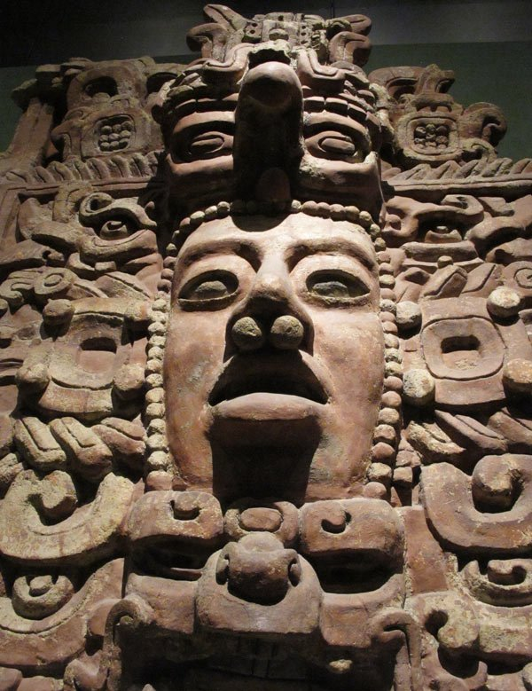Mask at National Museum of Anthropology, Mexico