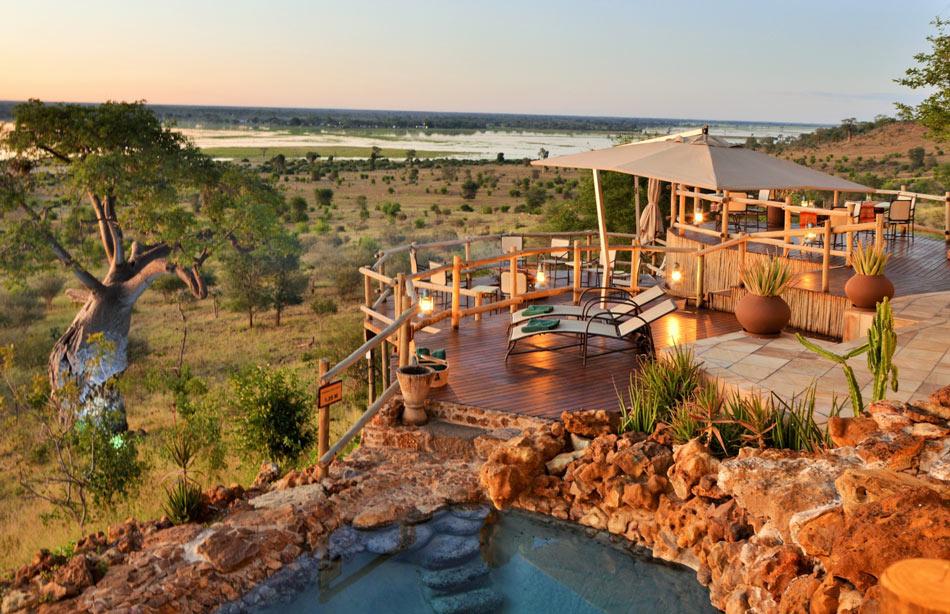 One of the top Chobe safari lodges, Ngoma overlooks the mesmerizing Chobe River floodplain