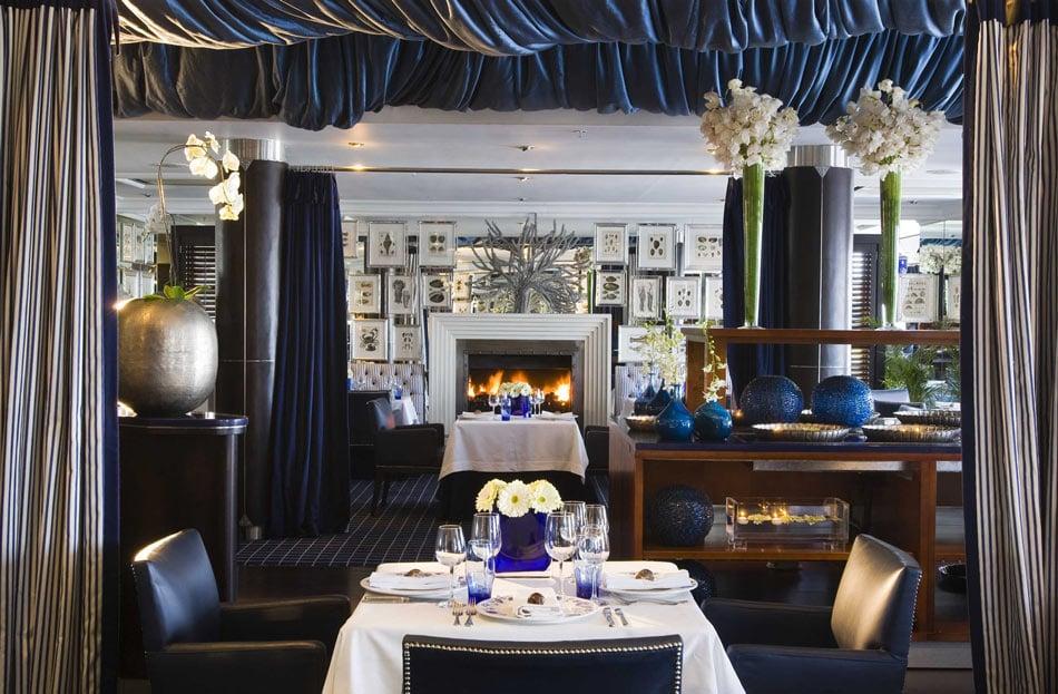 The fine dining Azure restaurant at 12 Apostles Hotel