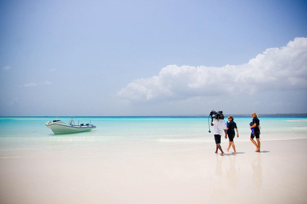Scuba diving at andBeyond Mnemba Island Lodge, Zanzibar