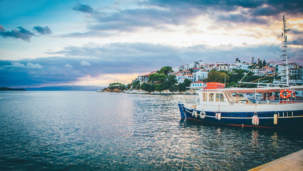 Skiathos is one of the most romantic places in Greece.