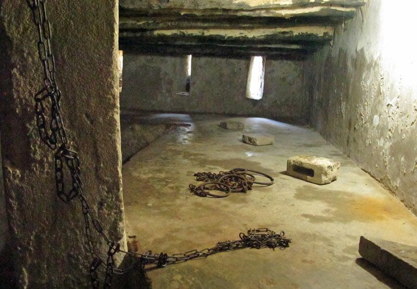 Old slave quarters in Stone Town, Zanzibar